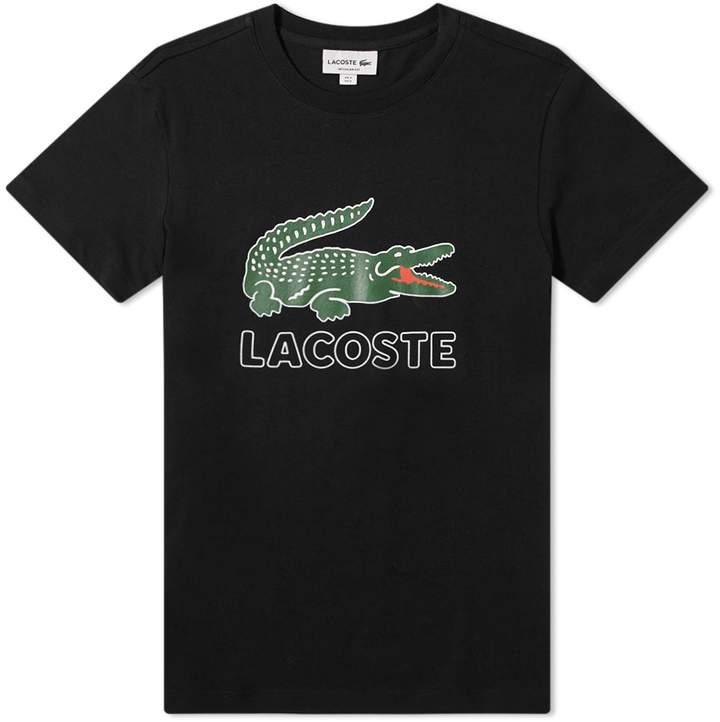 77a37a3f338b Lacoste Big Croc Logo Tee in 2019