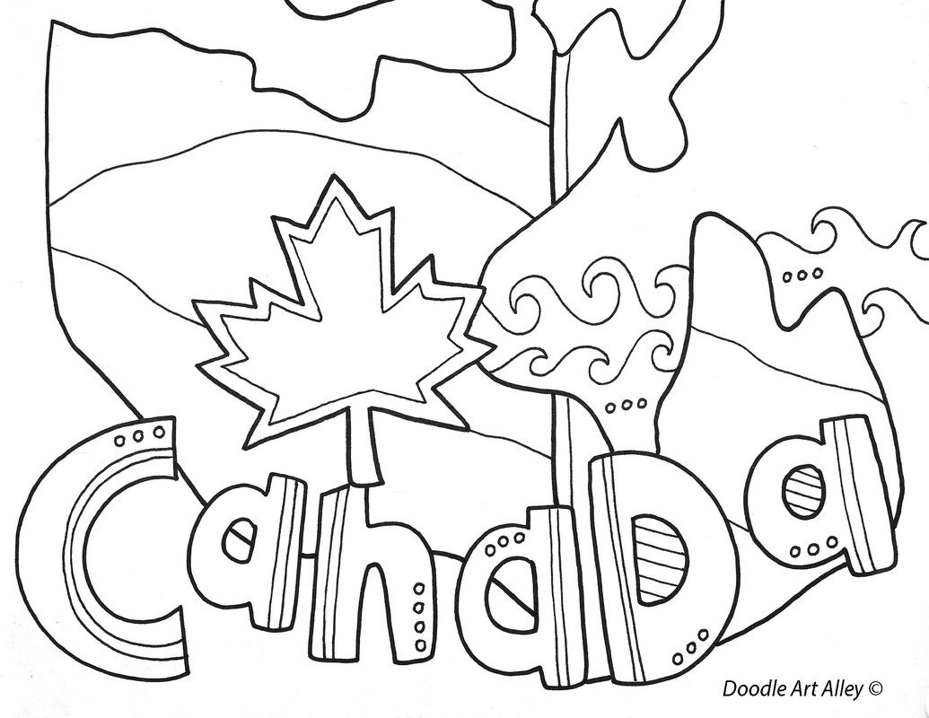 Geography Themed Coloring Pages Including A Nice One Of A