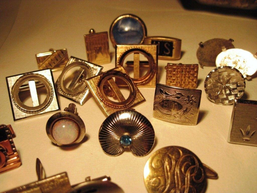 vintage men's cufflinks