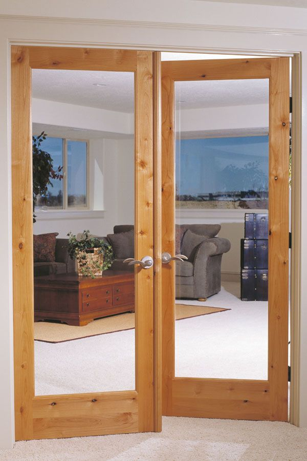 Knotty Alder 1 Lite French Doors 620 Office Door French Doors Photo Galleries