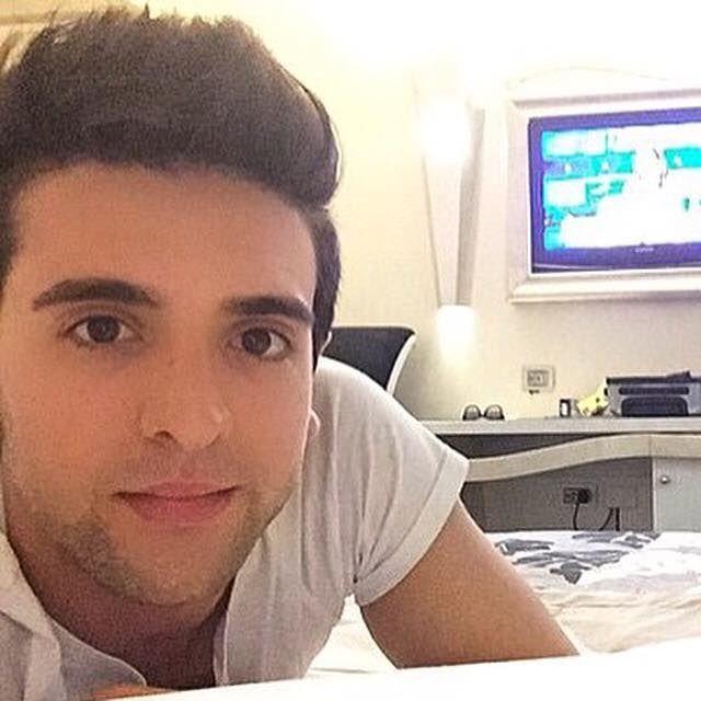 Piero in his bedroom probably in Bologna