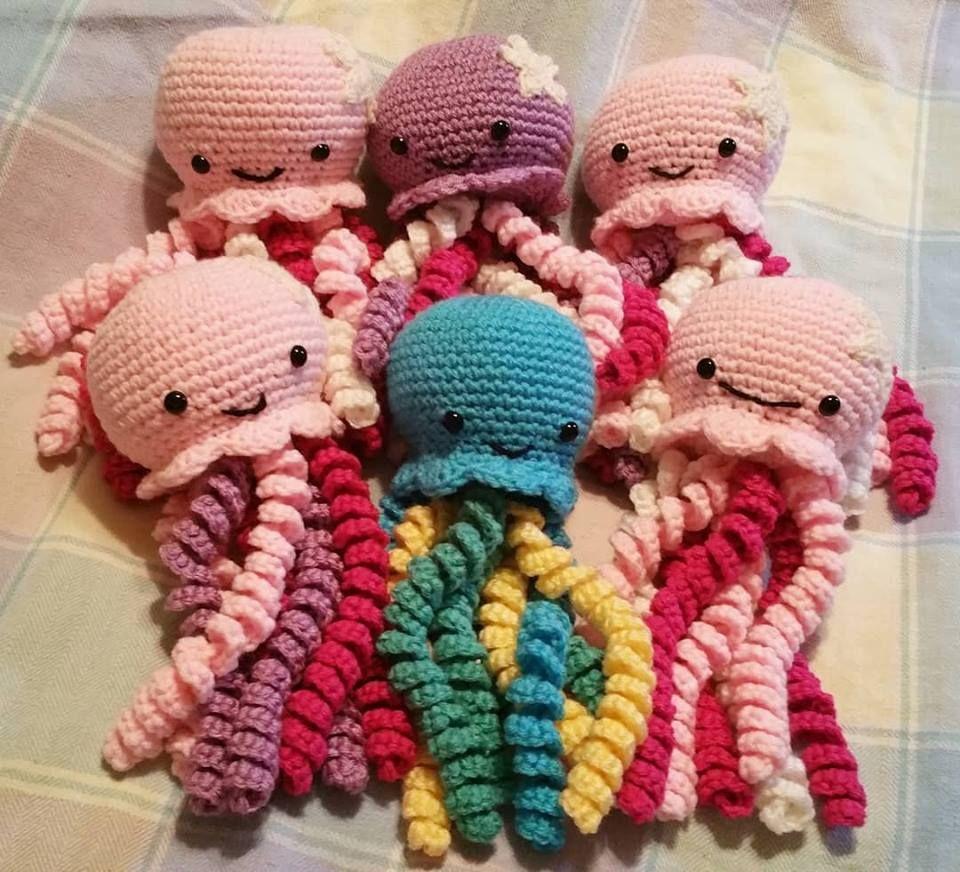 Crochet Jellyfish ~ FREE PATTERN!
