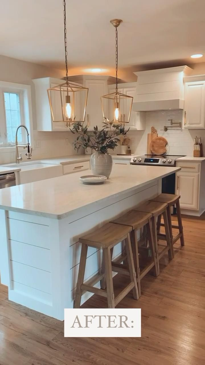 Photo of How to Paint Wood Stained Kitchen Cabinets