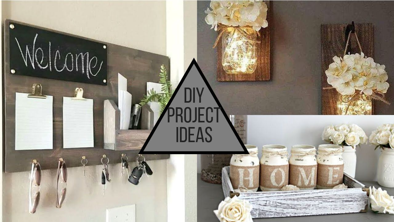 2019 Diy Modern Trendy Home Decorating Ideas Youtube Cheap Homedecor Suggestions For Sweet Houses Decoration Homedeco Diy Home Decor Decor Modern Diy