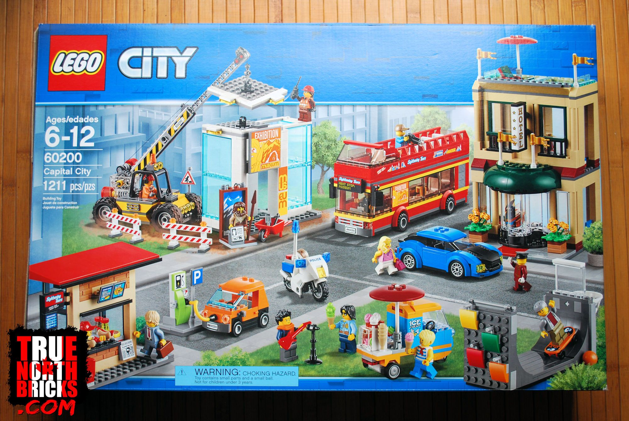 Capital City 60200 Lego Set Review True North Bricks In 2020 Lego City Lego Sets Lego City Police