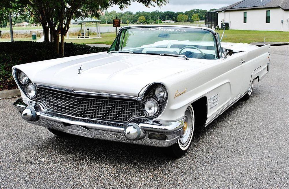 1960 Lincoln Continental Convertible Rare Find Estate Car ...