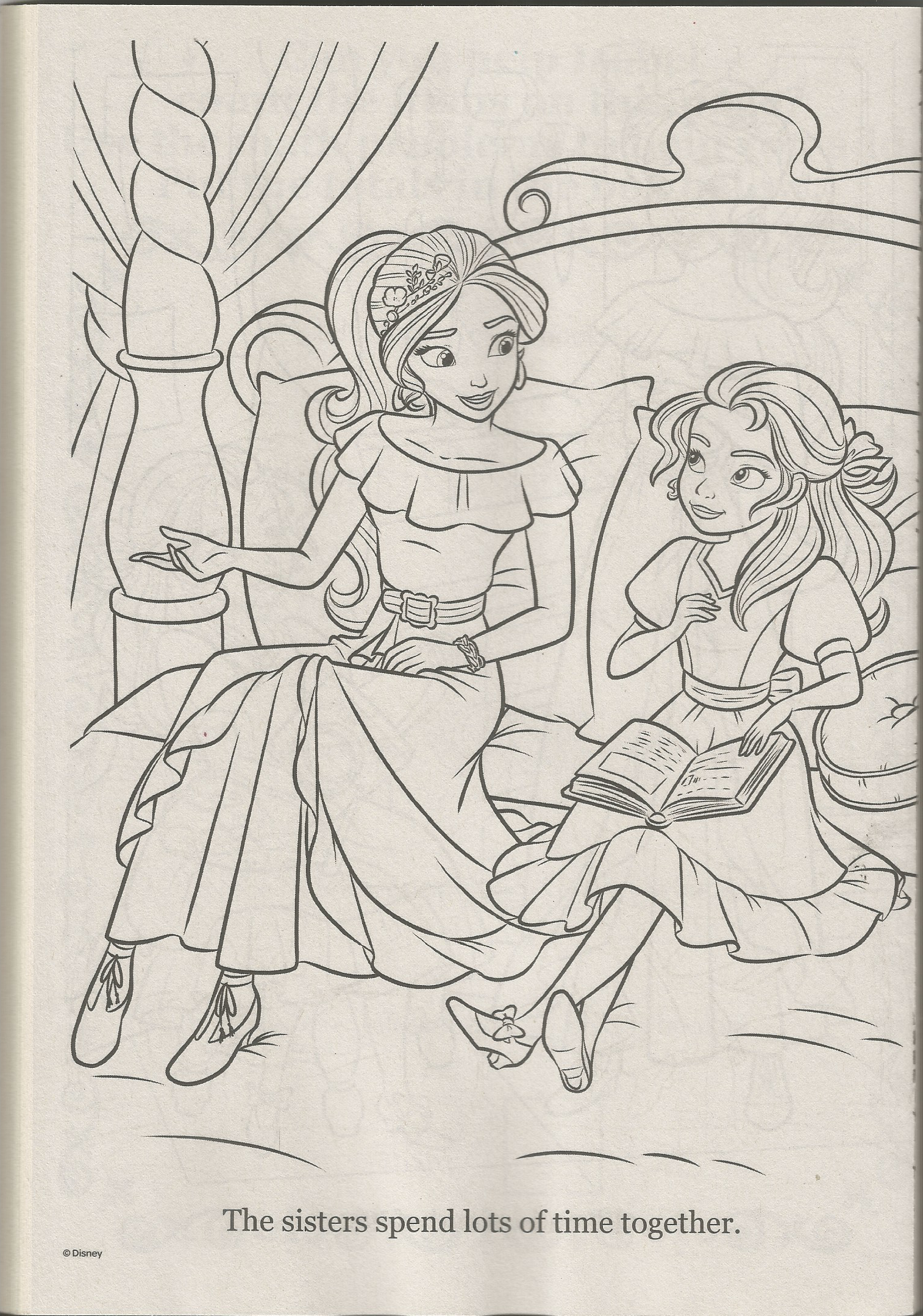 Elena Of Avalor Coloring Page [ png ]