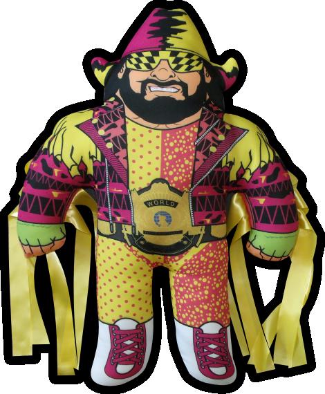 Wrestleart Com Pillowsmashers Macho Man Randy Savage Macho Man Macho