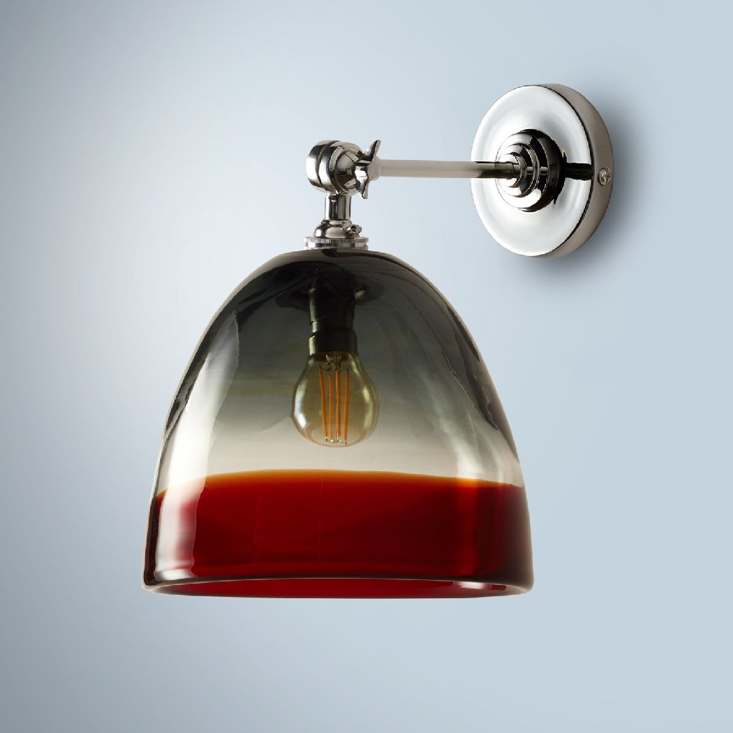 Petite And Elegant This Hand Blown Light Combines Colour And