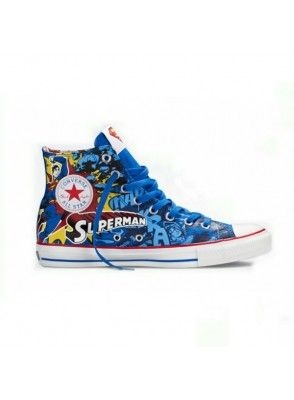 6c054a4515e8a1 Buy authentic Converse shoes Chuck Taylor All Star DC Comics Superman  Sneakers Blue Red hi go to converse shoes discount Shop with fast delivery  and free ...