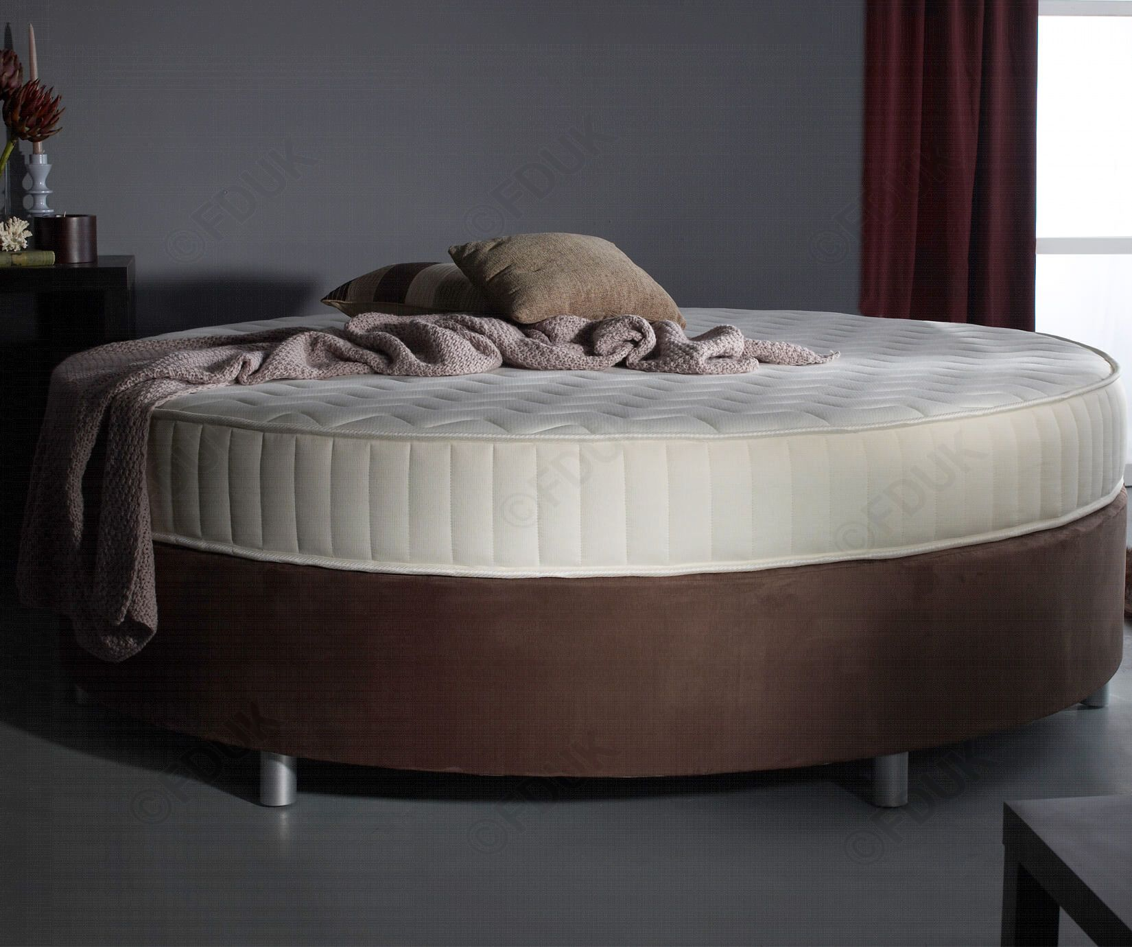 FD Essential Verve Round Bed Frame FDUK BEST PRICE