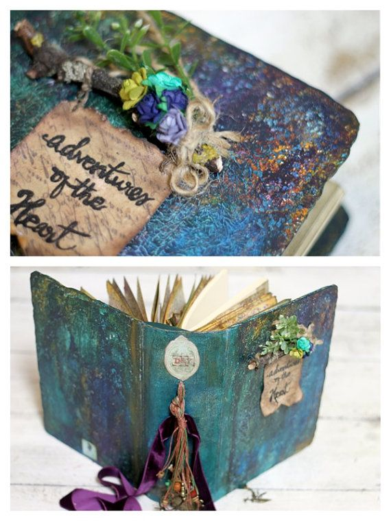 Rustic Woodland Wedding Guest Book And Por Lotusblubookart En Etsy