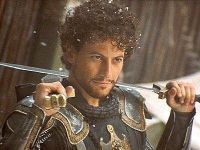 King arthur and lancelot