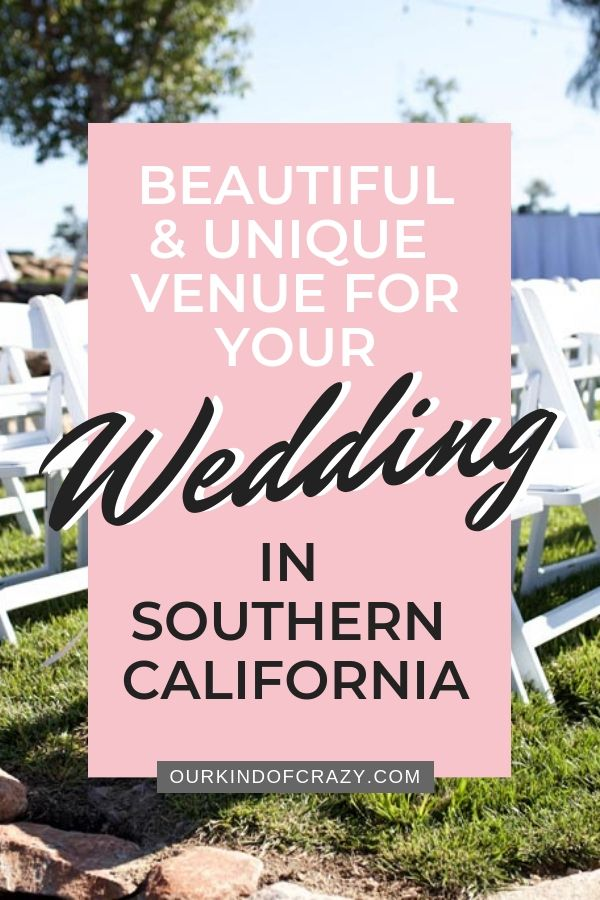 Best Outdoor Wedding Venues in Southern California ...