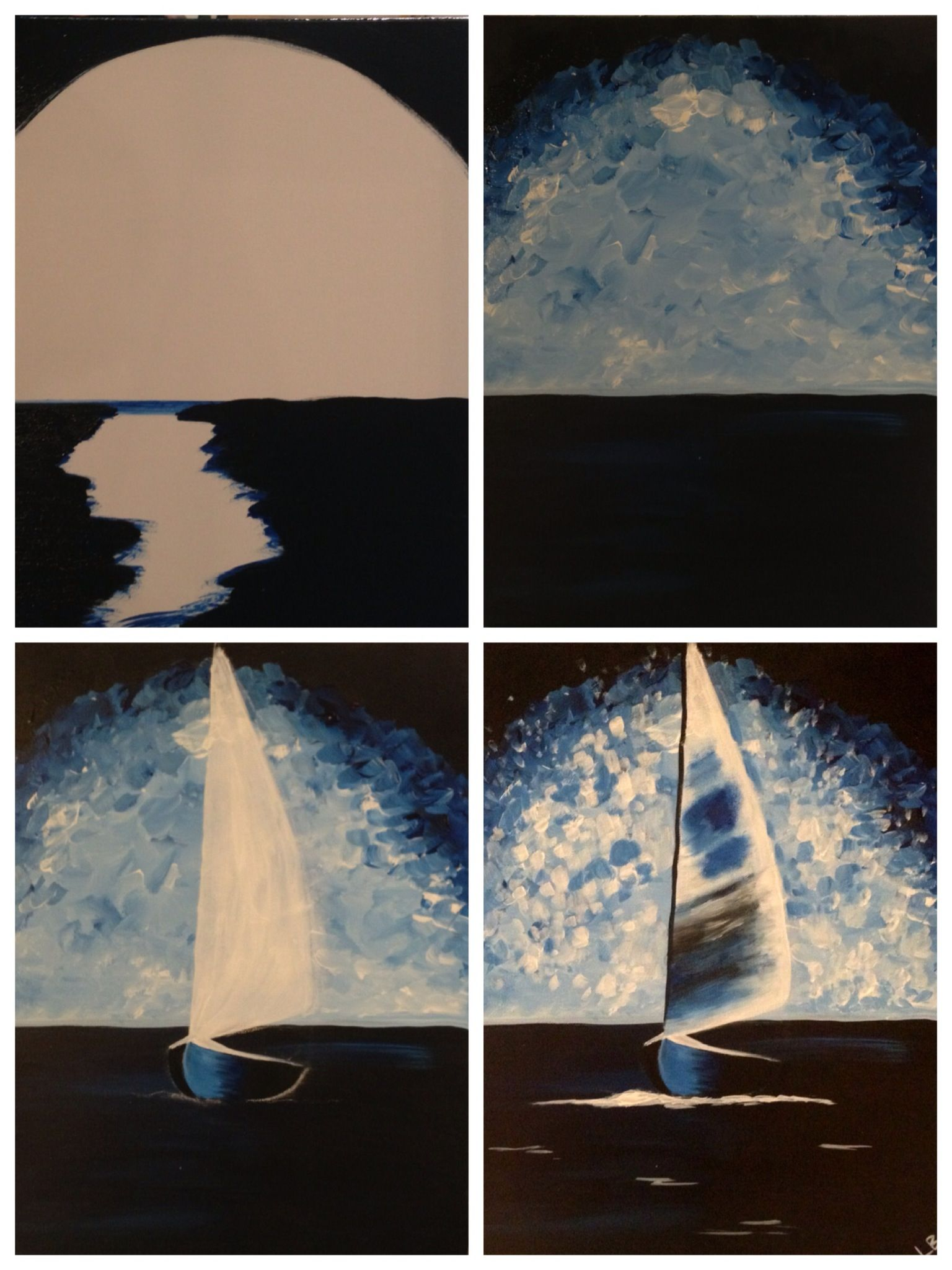 Evolution of painted Painting with a Twist Art, Art
