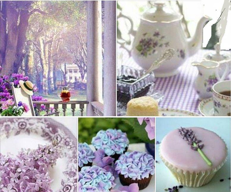 นั่งชมดอกไม้บานที่ระเบียงบ้าน พร้อมทั้งจิบน้ำชาและรับประทานของว่าง แสนสำราญใจ
