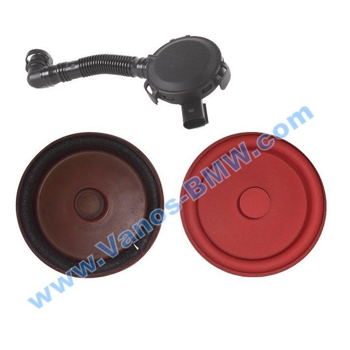 The diaphragm valve of crankcase gases BMW M54 M52TU