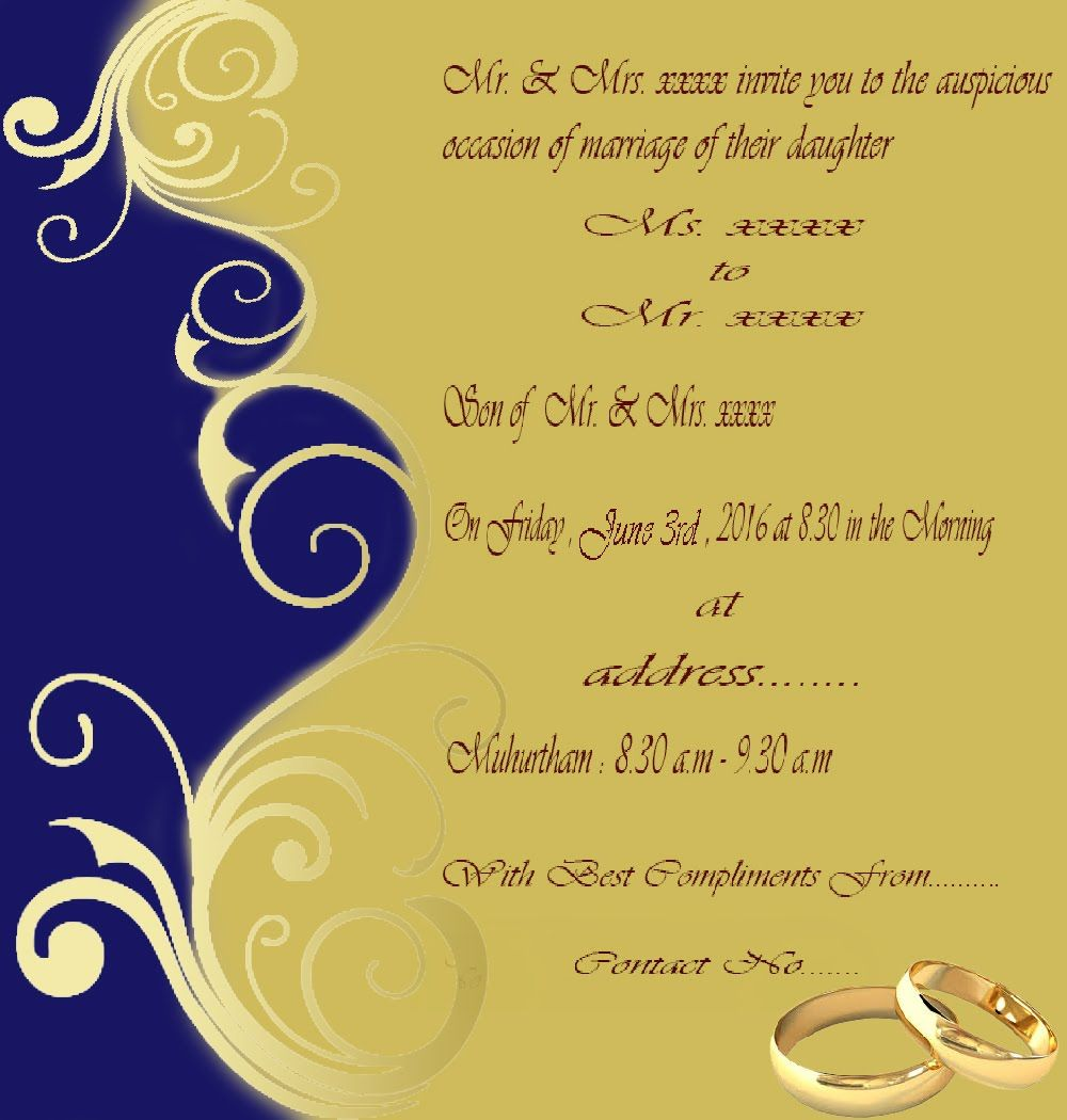 How To Create Wedding Invitation Card In Photo