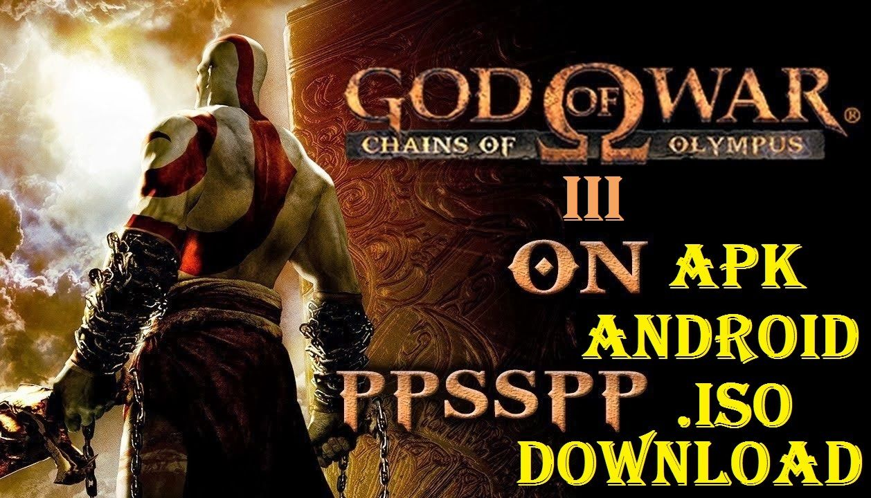 Download God Of War 3 Iso Apk For Android Game God Of War