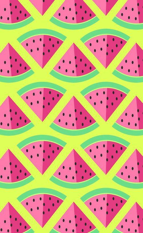 Watermelon Pattern #illustration #watermelon #summer
