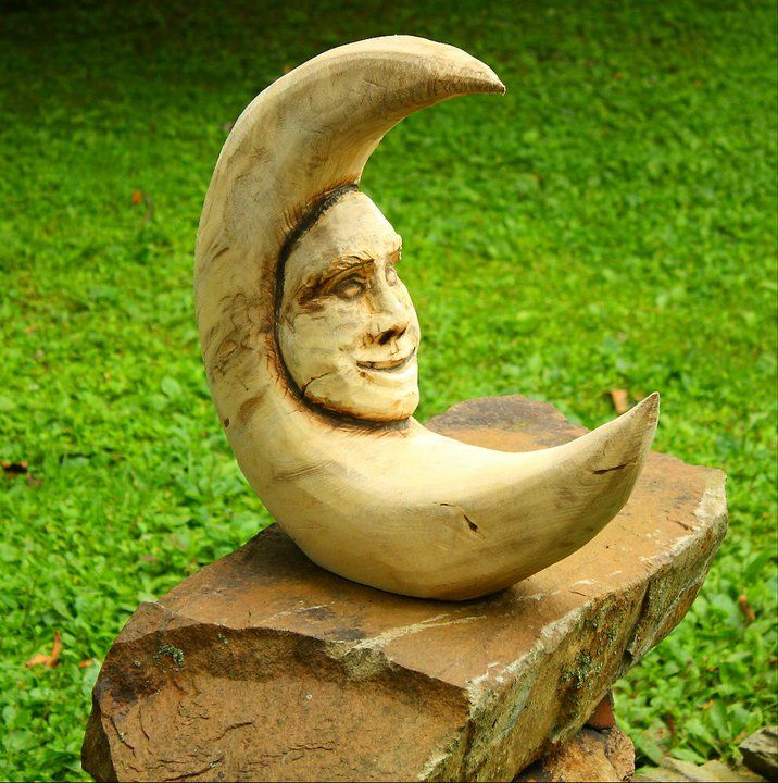 By dean fox chain saw wood carvings pinterest