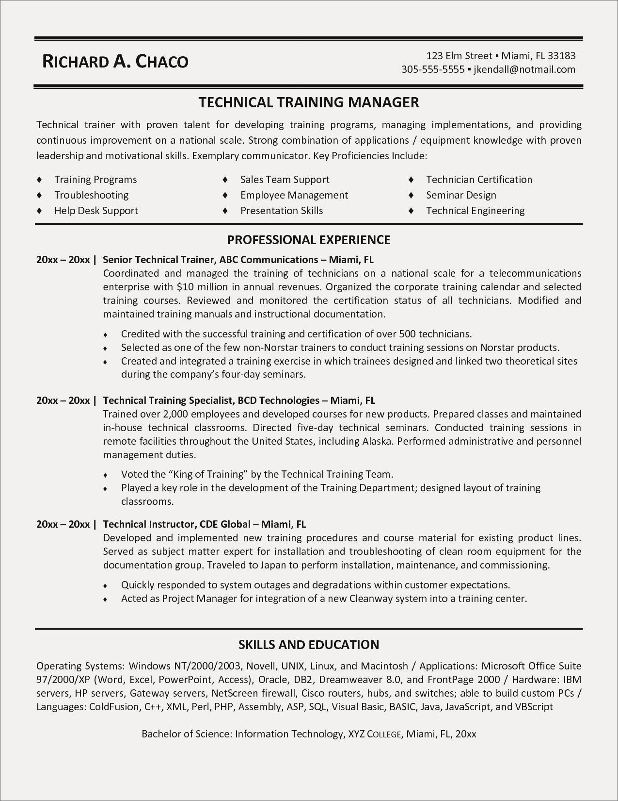 Perl Template Resume Sample Utd Beautiful American