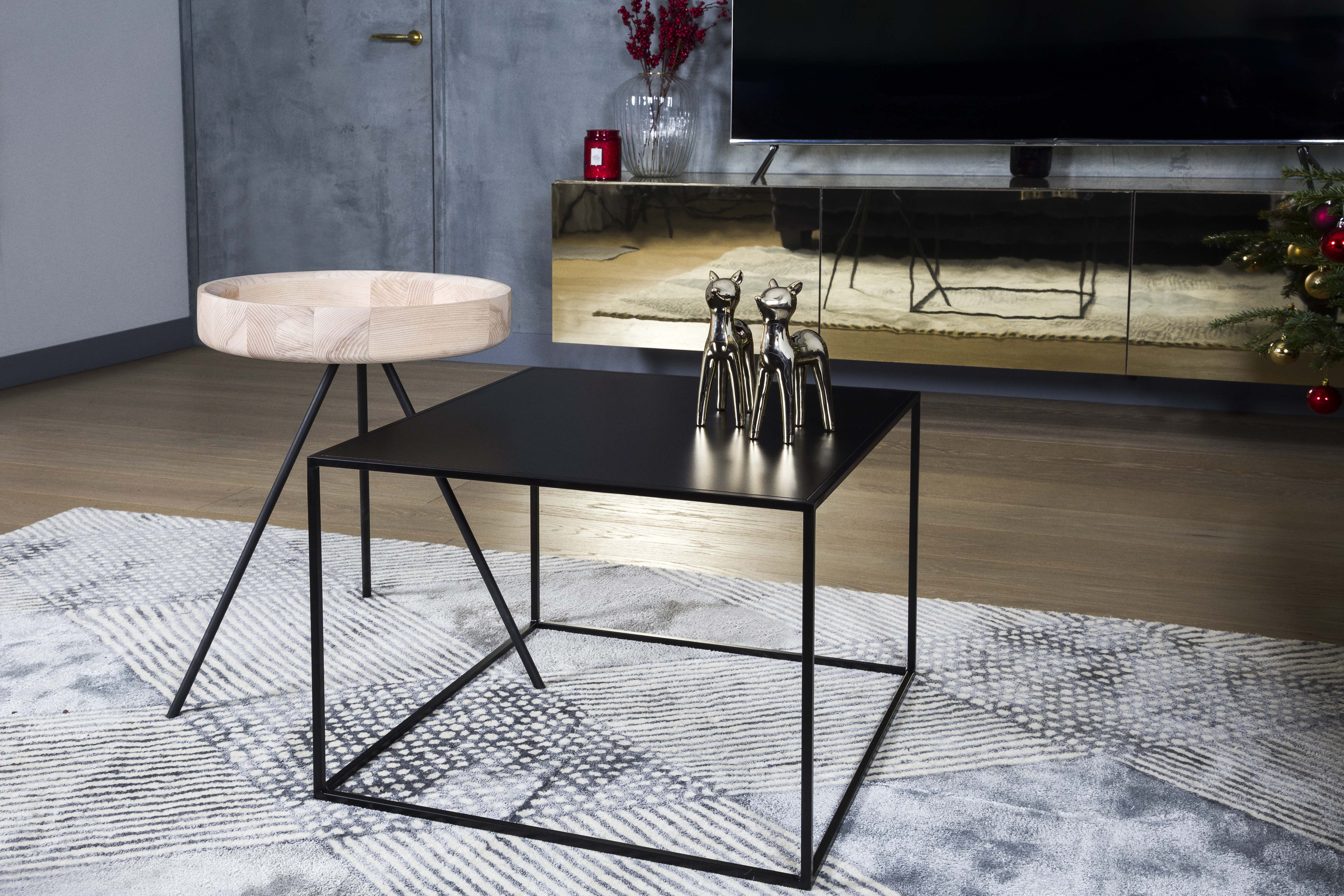 Metal, Modern Coffee Table Silence