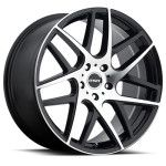 RSR Wheels R702 Black Machined