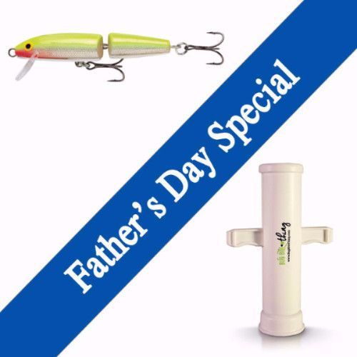 Father's Day Special -Bug Bite Thing & Rapala Lure