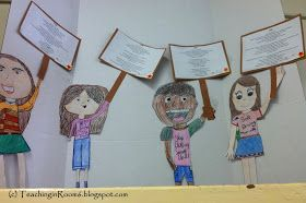 Teaching In Room 6 Taking A Standpart I Am Poem Idea From