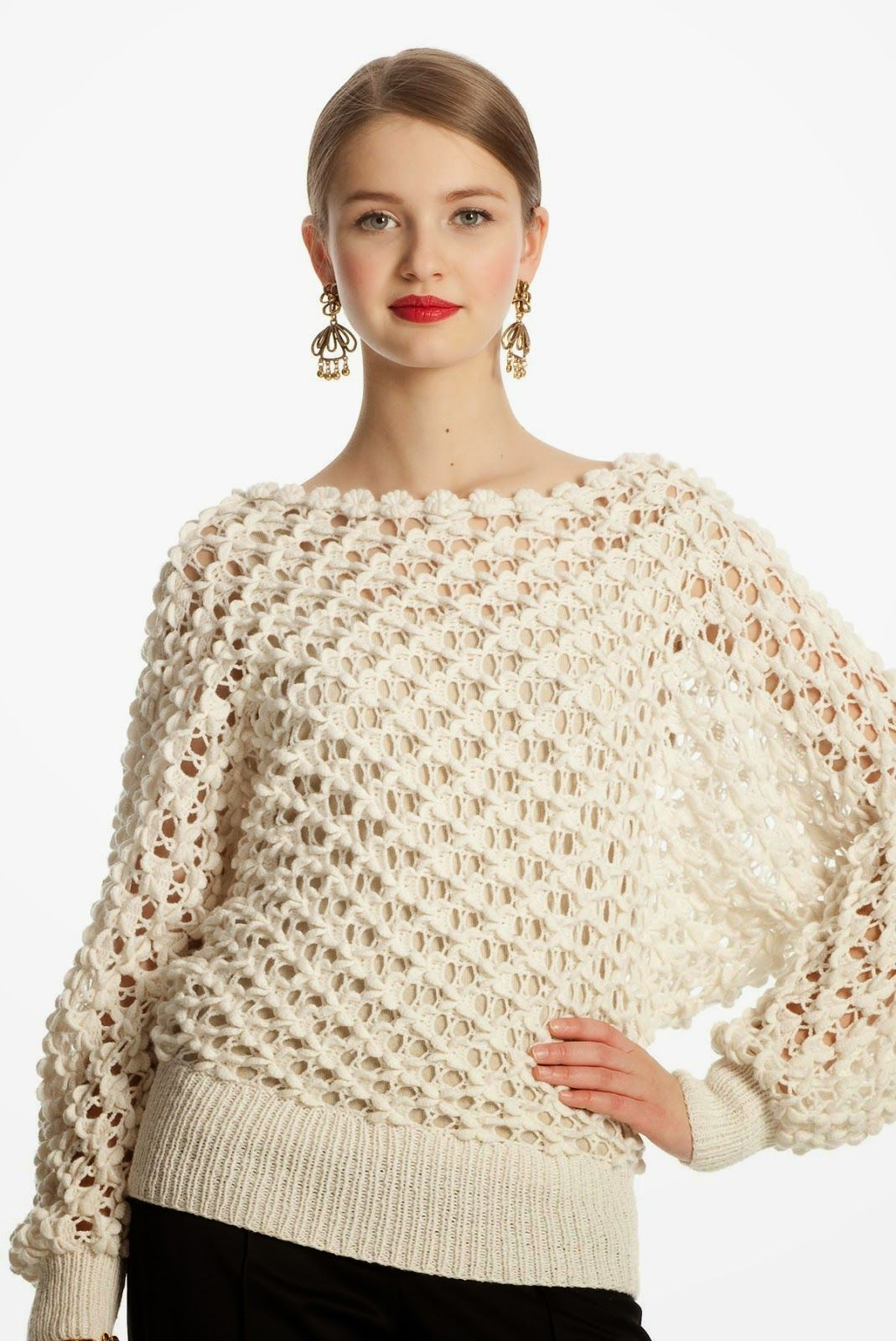 Punto Mariposa en Crochet Tutorial - Patrones Crochet #crochet ...