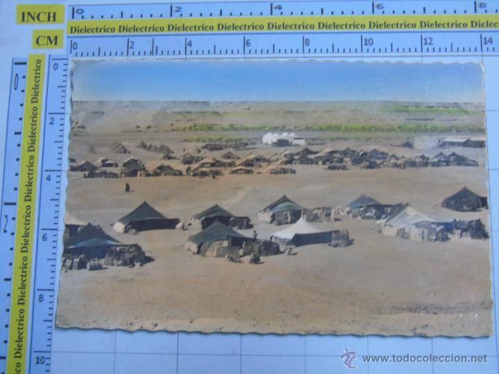 Postales: POSTAL DEL PROTECTORADO AÑOS 50. SAHARA ESPAÑOL. AAIUN, POBLADO NÓMADA. 39 PORRAS. 292 - Foto 1 - 54018952