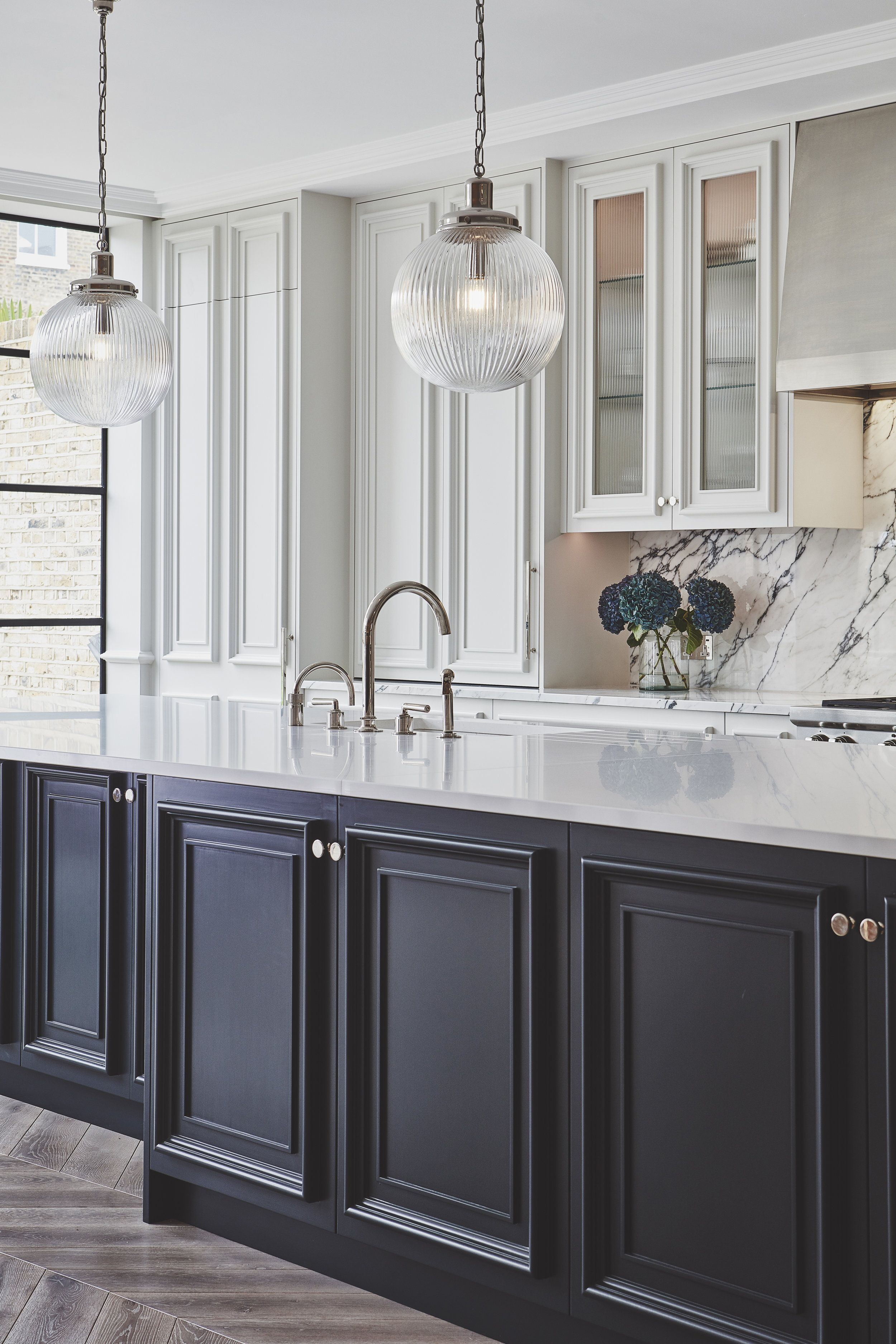 Sudbrooke Blakes London Glass Kitchen Cabinets Kitchen Design Glass Kitchen Cabinet Doors