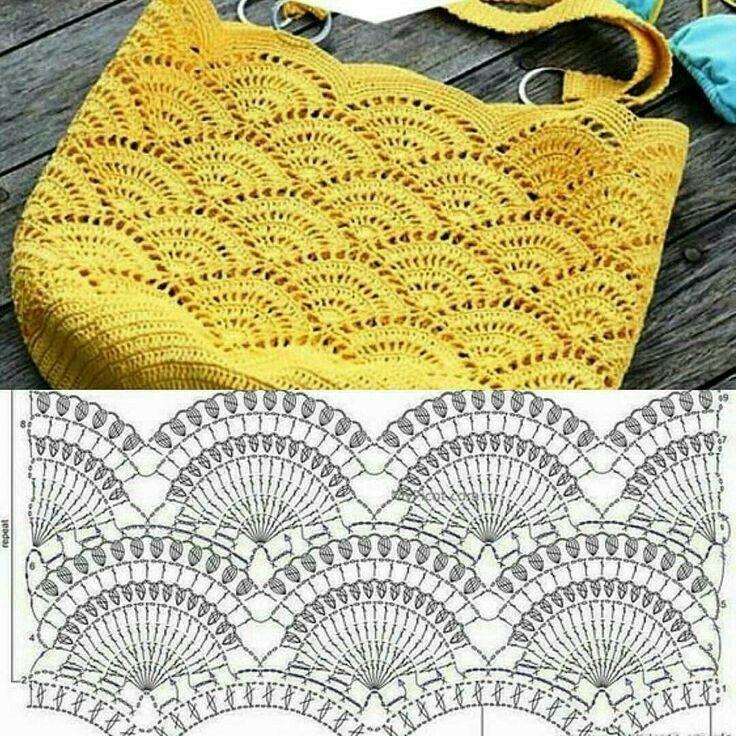 Best 10 Handtasche Tasche Häkelanleitung Salvabrani - Artofit - SkillOfKing.Com #crochetpatterns