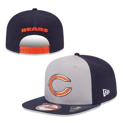 ... usa mens chicago bears new era gray 2015 nfl draft original fit 9fifty  adjustable hat nflfanstyle f90118128