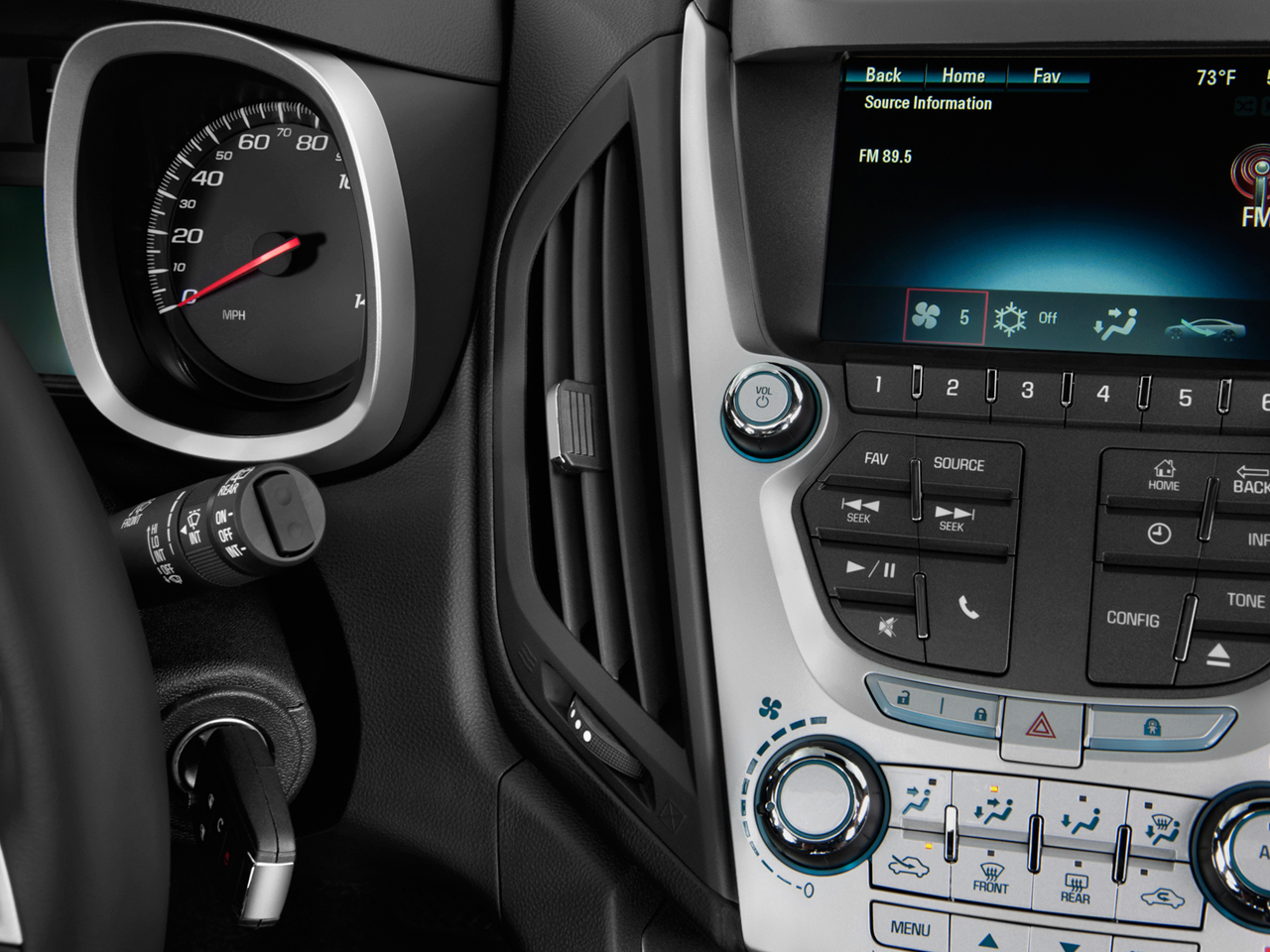 2012 Chevrolet Equinox Ls Sport Utility Interior Photos