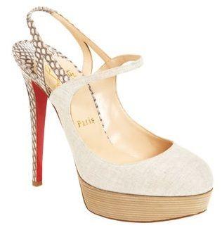 "Christian Louboutin \""Fine Bretelle\"" Platform sandals"