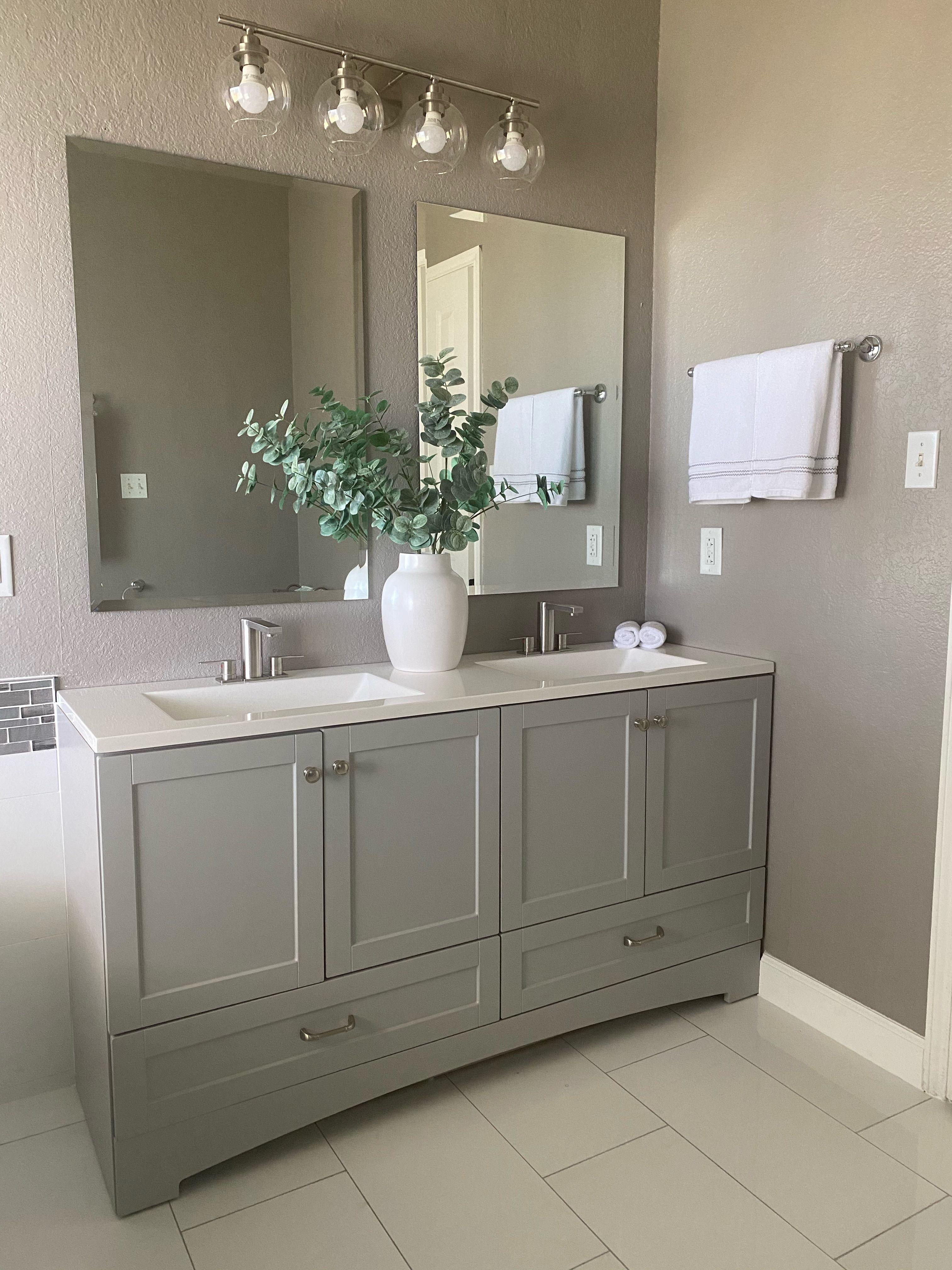 35++ Master bathroom vanity lighting ideas diy