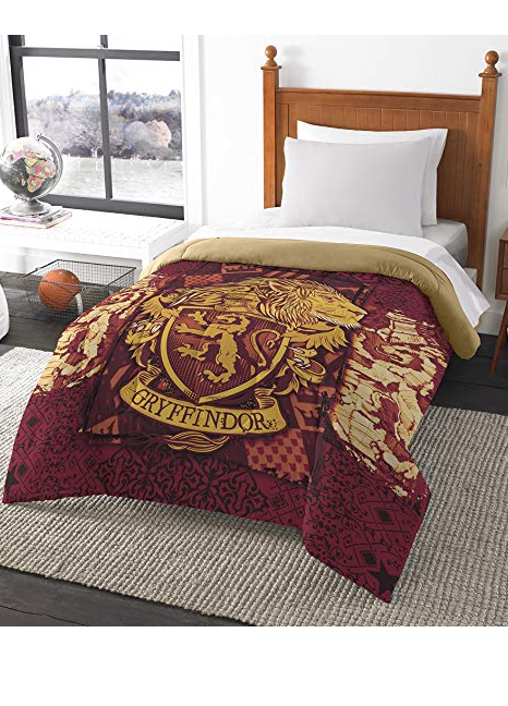 Harry Potter Magic House Gryffindor Twin Full Comforter 72 X