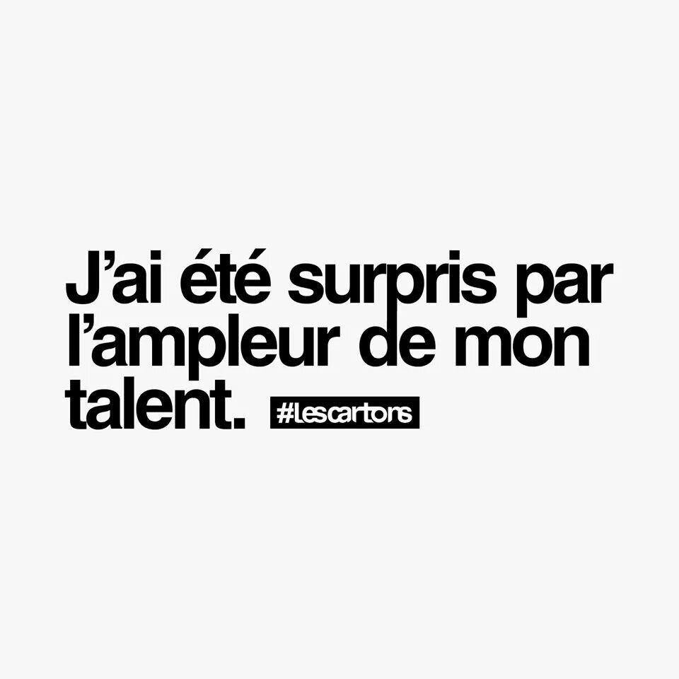 Je Me Fais Peur Des Fois Looool Words Quotes Funny Quotes French Quotes