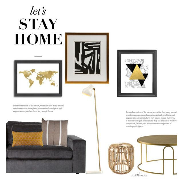 """""""Let's Stay Home"""" by arethaman ❤ liked on Polyvore featuring interior, interiors, interior design, home, home decor, interior decorating, Louis Poulsen, Americanflat, Serena & Lily and Andrew Martin"""
