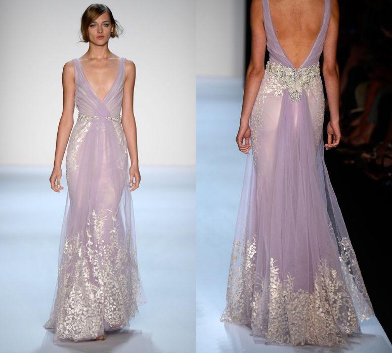 Lovely Bridal Inspiration Badgley Mischka New York SS Designers u Trends