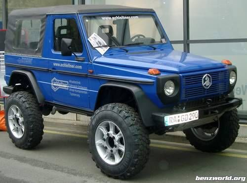Full armored G with Portal-Axles - Benzworld.org - Mercedes-Benz Discussion Forum