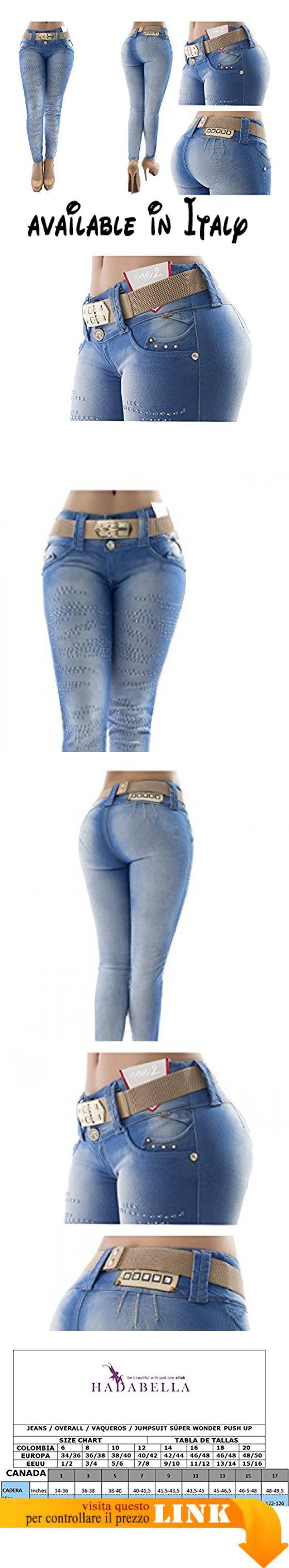 d3d3097f25 B072L9PBPW : I veri! Jeans push up fatto in COLOMBIA senza tasche ...