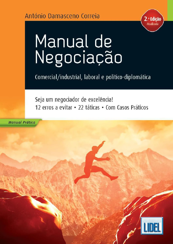 Manual de Negociação – Comercial/industrial, laboral e político diplomática (2ª Ed.) by Grupo Lidel