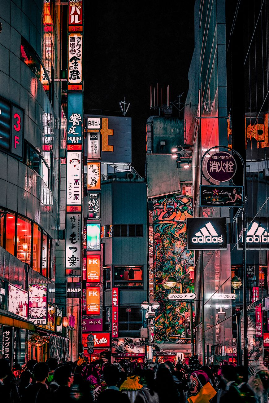 Tokyo On Behance Aesthetic Japan City Wallpaper Aesthetic Wallpapers
