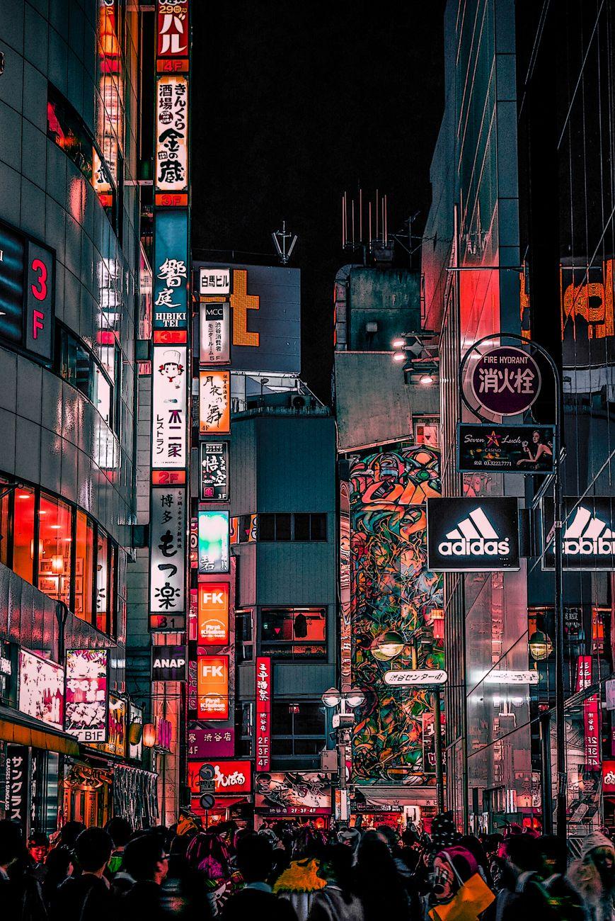 tokyo on behance aesthetic japan city wallpaper