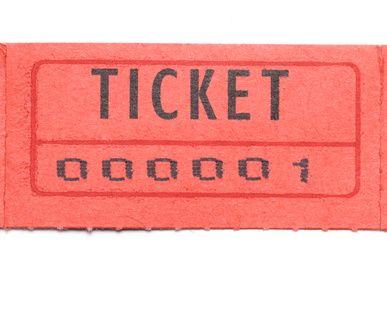 making raffle ticket