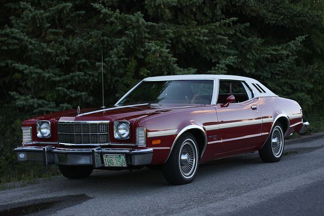 1974 Ford Gran Torino Elite Car Ford Ford Torino Old Muscle Cars