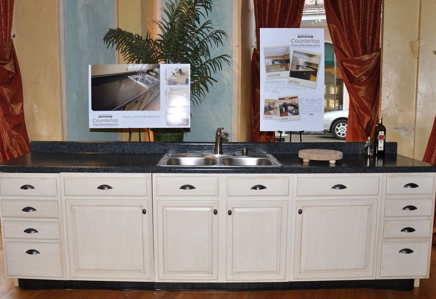 Painting Your Kitchen Cabinets Is No Small Undertaking: Repaint Your Kitchen Cabinets Without Stripping Or Sanding